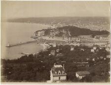 Photo Neurdein Albuminé Nice Alpes MaritimesProvence Vers 1880