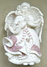 """Sarah's Angels RARE """"Faith"""" Praying Angel Musical Box 30800, 7.5"""""""