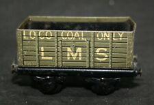Trix (TTR)-2/621 LOCO COAL ONLY LMS 93631 Coal Wagon Circa 1938/54 RARE