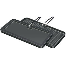 Magma 2-Side Reversible Non-Stick Teflon Rectangular Griddle/Grill Pan 8x17-inch