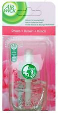 AIR WICK AIRWICK PLUG IN REFILL SCENT FRESHENER ESSENTIAL OIL  ROSE *FREE P&P UK