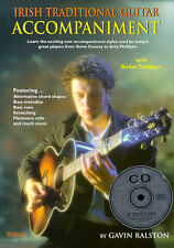 Irish Traditional Guitar Learn to Play Celtic Songs Tunes TAB Music Book & CD