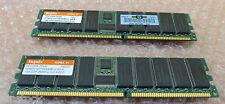 Hynix 2GB RAM  2 x 1Gb PC2100R-25330 HYMD212G726BS4M-H Memory Module