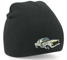 Ford Mk2 Escort Inspired Embroidered Beanie Hat Rallying Rally race Car