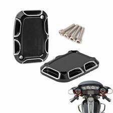 Street Glide FLHX Brake Master Cylinder Cover For Harley Touring Road King 07-17