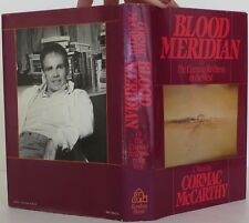 CORMAC MCCARTHY Blood Meridian FIRST EDITION