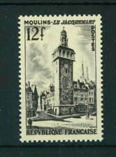 France 1955 The Bell tower of Moulins stamp. MNH. Sg 1250.