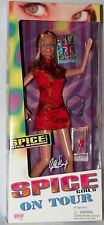 """Rare Spice Girls on Tour 12"""" Geri Halliwell Doll - Ginger Spice New in Box 1998"""