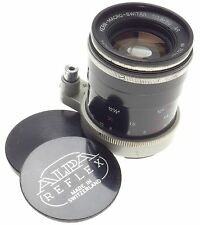 KERN-MACRO-SWITAR BLACK ALPA 1:1.8/50mm AR f=50 SLR CAMERA RARE LENS CLEAN GLASS