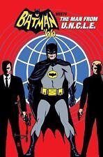 BATMAN '66 MEETS THE MAN FROM U.N.C.L.E. - PARKER, JEFF/ HAHN, DAVID (ILT)/ QUAL