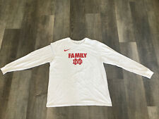 Nike Mater Dei Basketball Family White Long Sleeve T-shirt Men's Xl