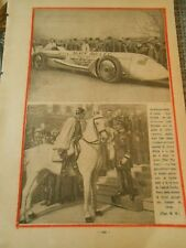 Le Nouveau Bolide La Voiture Balle d'Argent de Louis Kostalen Print 1930
