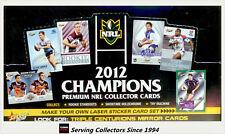 FACTORY BOX!! Select 2012 NRL CHAMPIONS TRADING CARD BOX (36 Packs)