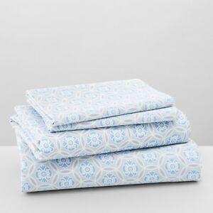 NEW Sky Bedding Avalon 230 Thread Count 100% Cotton TWIN Sheet Set Grey E5089