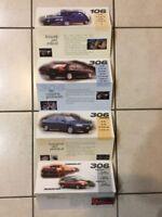 Peugeot Range Car Brochure - 1990s
