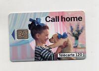 Télécarte - CALL HOME - 120 unités  (A5758)