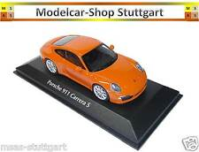 Porsche 911 Carrera S 2012 Orange - Minichamps 1:43 - NEW