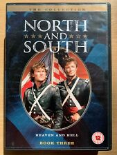 Nord et Sud Livre 3 DVD Coffret 1994 Américain Guerre Civile Mini Série
