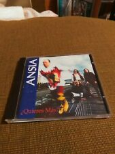 Ansia Quieres Mas 1993 Import Mexico CD Like New Rare
