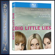 BIG LITTLE LIES -  Reese Witherspoon & Nicole Kidman **BRAND NEW BLU-RAY***