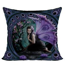 Naiad Faery Fairy Decorative Throw Pillow Cushion fantasy art Anne Stokes