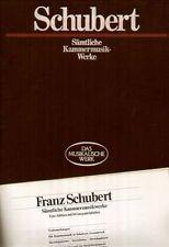 Schubert - rare 18 LP Book, Booklet, Sämtliche Kammermusik-Werke, Chamber Works
