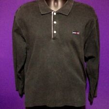 Vintage Tommy Hilfiger retro 90's Black long sleeve shirt Size XL Youth