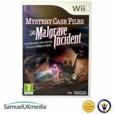 Mystery Case Files: el INCIDENTE MALGRAVE (Wii) ** Excelente Estado **