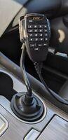 Car Cup Holder HAM Radio Mic Microphone Mount