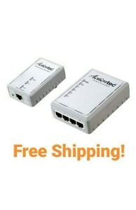 Actiontec 500 Mbps Powerline Ethernet Adapter