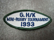 Mini Rugby 1993 Sport Cloth Patch Badge (L13K)