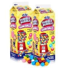 Dubble Bubble Gum-Balls Nachfüll-Packung Kaugummis für Kaugummi-Automaten (2er P