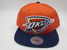 OKC Oklahoma City Thunder KD 5 Blue Mitchell & Ness NBA Snapback Hat Cap