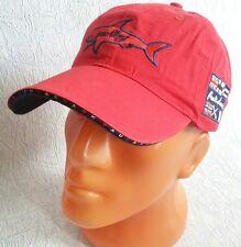 Paul & Shark Style Sport Baseball Cap New Hat  Adjustable Red