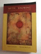 Myth and Knowing an Introduction World Mythology Scott Leonard Michael McClure