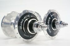 New Shimano Dura Ace Track HB-7600 F/R 36Holes Hubs Made In Japan Free Shipping