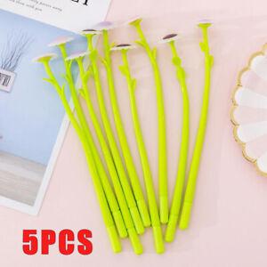 5PCS Creative Sunflower Gel Pen Kawaii Cute Flower Pen Novelty Neutral Pen Gift