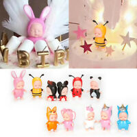 Cute Cartoon Cake Topper Sleeping Baby Toy Baby Shower Party Fondant Decoration