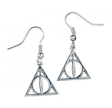 Harry Potter Deathly Hallows Silver Earrings Earring WE0054