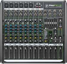 Mackie profx 12 mkii - 12 canaux compact mixer avec effets et usb neuf