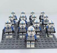 13x 501st Clone Trooper Mini Figures (LEGO STAR WARS Compatible)