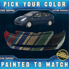NEW Painted To Match - Front Bumper Cover Replacement for 2004-2009 Toyota Prius