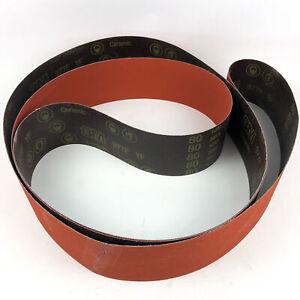 "3M Cloth Belt 977F 80 YF-Weight 4""x156"" Sine-lok Single-Flex Cubitron 48743(1pk)"