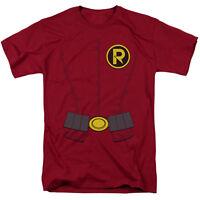 Batman Robin New Style Costume R Logo Tee Shirt Adult Sizes S-3XL