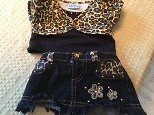 Build A Bear Skirt and Matching Shirt,
