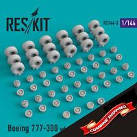 ResKit 144-003 Boeing 777-300 wheels set (resin wheels) 1/144