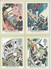 GB 1987 PHQ Cards Complete Set #102 -  ST. JOHN AMULANCE - Unused MINT