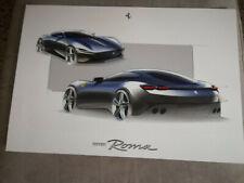 Poster Ferrari Roma - F1