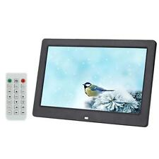 "10.1"" BTZ-LCD HD Digital Photo Frame Alarm MP3 MP4 Movie Player + Remote BLK BT"
