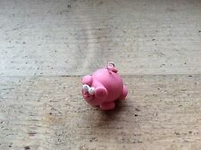 Pig Charm Handmade Jewellery Making Pink Oink Loop